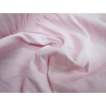 Soft Brushed Stretch Cotton- Baby Pink