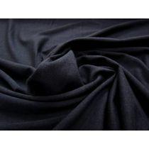 Soft Fall Tencel & Wool Blend Jersey- Navy #975