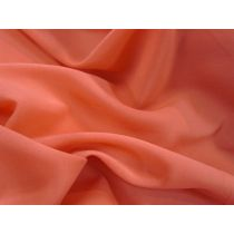 Stretch Chiffon- Blood Orange