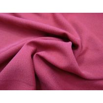 Textured Suiting- Ruby Rouge