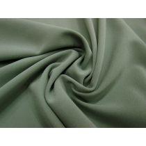 Bonded Stretch Crepe-Gum Leaf Green #1009