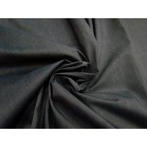 Cotton Blend Shirting- Slate Grey