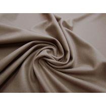 Cashmere Wool Blend Flannel- Portobello Brown