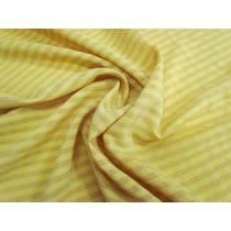 Cotton Blend Self Check Shirting- American Mustard