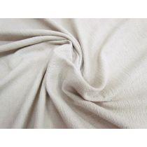 Rustic Weave Stretch Viscose- Stone Beige