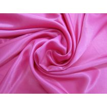 Charmeuse Satin- Bright Cerise
