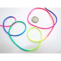 Rat Tail Ribbon- Rainbow
