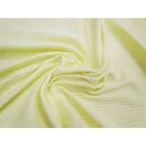 Chunky Rib Knit- Spring Yellow