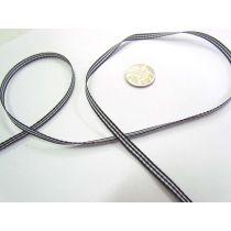 Gingham Ribbon 5mm- Black