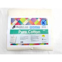 King Size Matilda's Own M440 Pure Cotton Wadding Precut