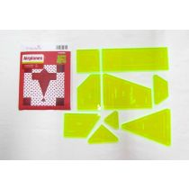 Airplanes Patchwork Template Set