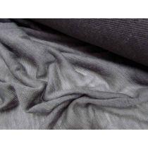 Sheer Wool Jersey- Dark Cloud