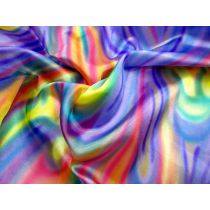 Rainbow Satin- Purple / Yellow / Pink