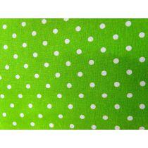 Linen Mochi Dots- Fresh Grass