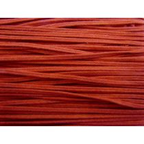 Fishtail Braided Cord - Red