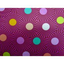 Tula Pink Slow & Steady #88- Raspberry