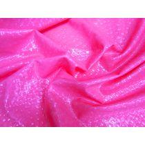 Animal Laser 2way Stretch PVC- Pink