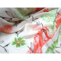 Orchard Garden Stripe Chiffon