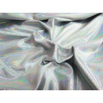 Irridescent Digital Dot Spandex- Crystal