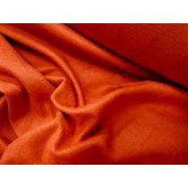 Cotton Fleecy- Tangerine