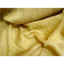 Crinkle Silk- Mustard