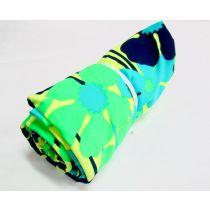 1m Mini Roll Neon Jungle Spandex
