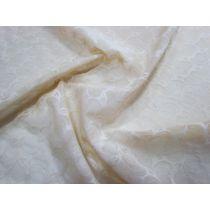 Floral Fern Lightweight Power Net- Pale Beige
