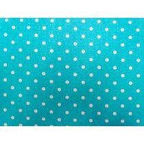 Linen Mochi Dot- Aqua