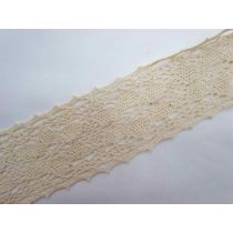 Rustic Bouquet Lace Trim- Natural