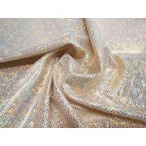 Shattered Glass- Gold/White