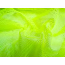 Fluro Yellow Basketball Mesh