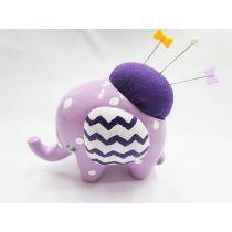 Pin Ellie Pin Cushion- Purple