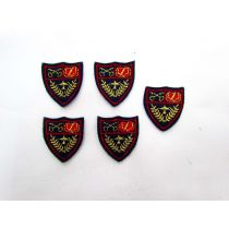 Iron On Shield Motifs- 5 for $2