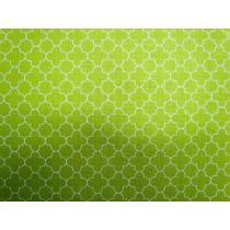 Mini Quatrefoil- Lime