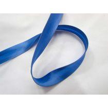 15mm Satin Bias Binding- Cornflower Blue