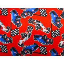 Red Racer Flannelette