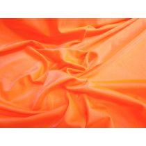 Shiny Spandex- Fluro Mandarin
