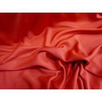 Eyelet Sports Jersey- Red