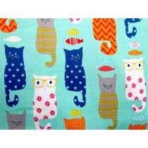 2016 Designer Novelty Cats- Blue