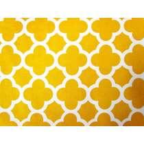 Riley Blake Quatrefoil- Mustard