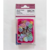 Quilting pins pastel