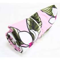 1m Precut Phuket Floral Spandex Mini Roll- Pink