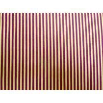 A Day In The Country- Festival Stripe- Maroon/Mustard