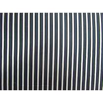 A Day In The Country- Ticking Stripe- Black