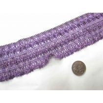 Fairground Weave Stretch Trim- Purple