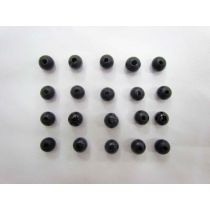 Black Wooden Beads- 20 for $1.50- RW137