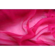 Silk Chiffon- Cerise