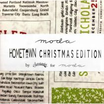 Moda Hometown Christmas Edition Promo Pack