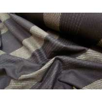 Bobbi Stripe Wool Flannel- Elegant Earth