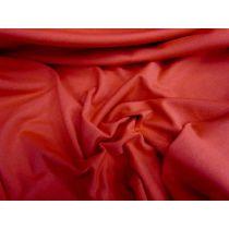 Cotton Spandex- Superhero Red